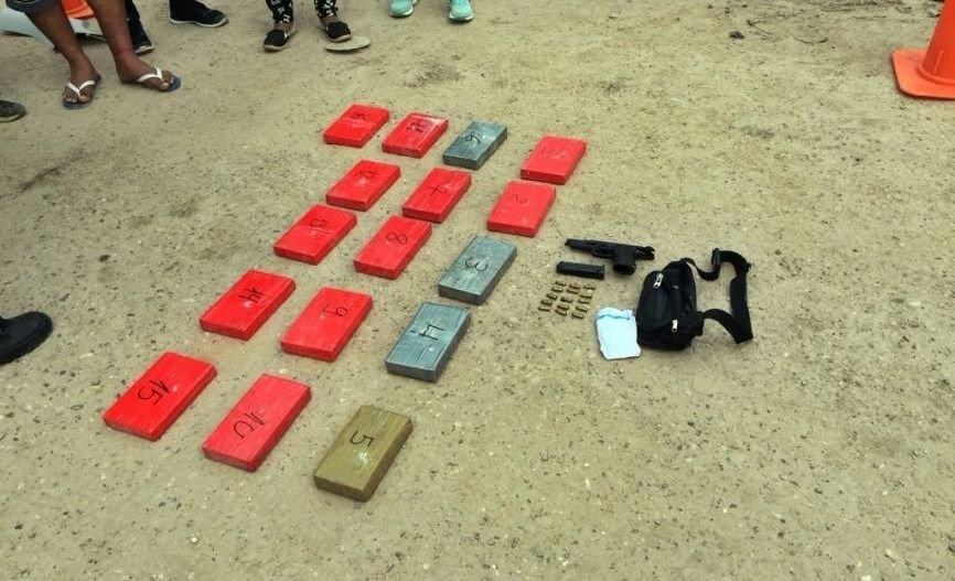 Un gendarme fue detenido con 16 kilos de droga
