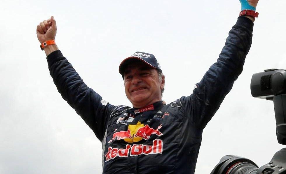 El español Carlos Sainz ganó el Rally Dakar en autos