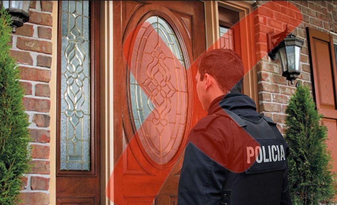 Falsos policías piden colaboración de puerta en puerta