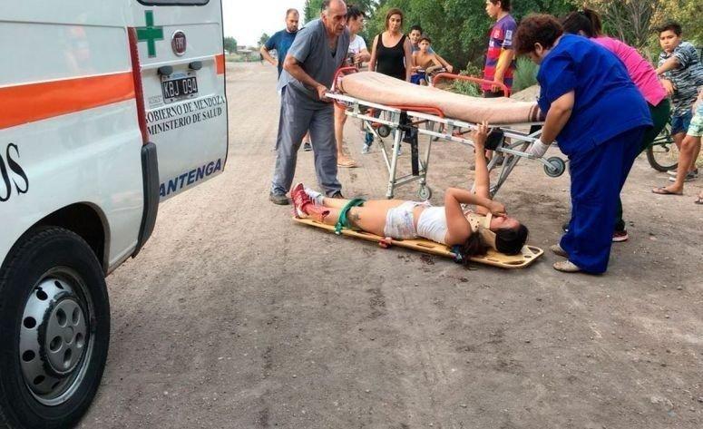 Se fugó del hospital la joven mendocina que recibió un balazo por amenazar a un policía