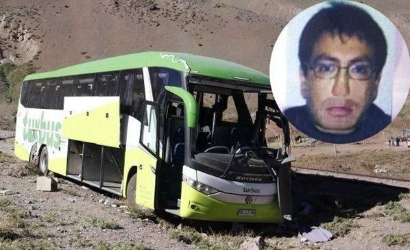 Tragedia TurBus: mató a 19 personas y lo condenaron a 20 años de prisión