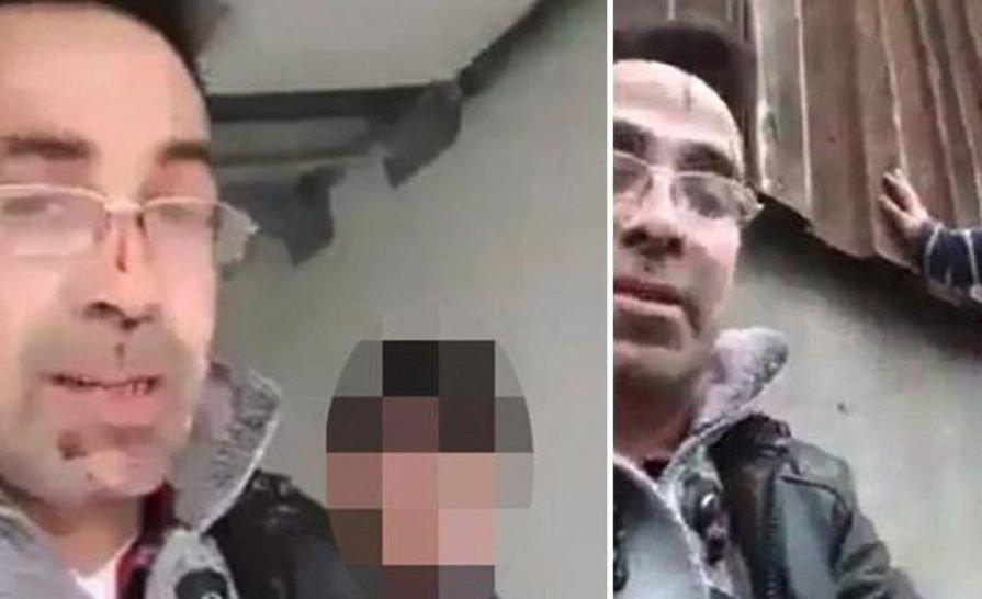 BRUTAL VIDEO| Mató a puñaladas a su esposa y lo transmitió por Facebook