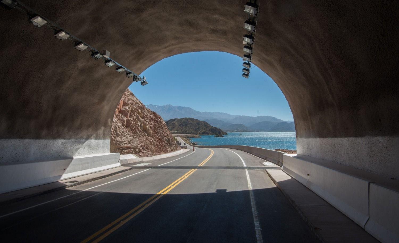 Fotogalería: así quedó el túnel Cacheuta - Potrerillos