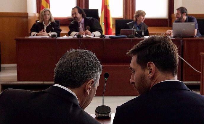 Piden que Messi cumpla los 21 meses de cárcel