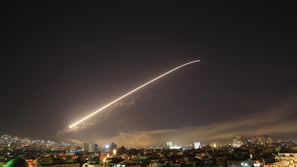 Videos — Bombardeos en Damasco