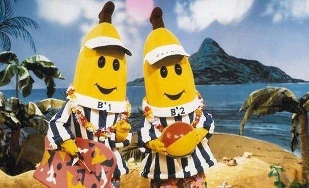 """Estos son los dos actores de """"Bananas en Pijamas"""""""