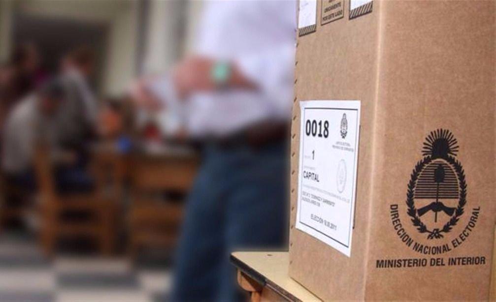 Elecciones legislativas: este sábado llegarán las urnas a las escuelas