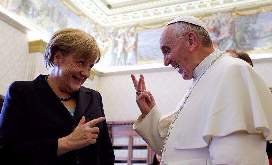 Francisco y Merkel destacaron la dimensión del Acuerdo de París