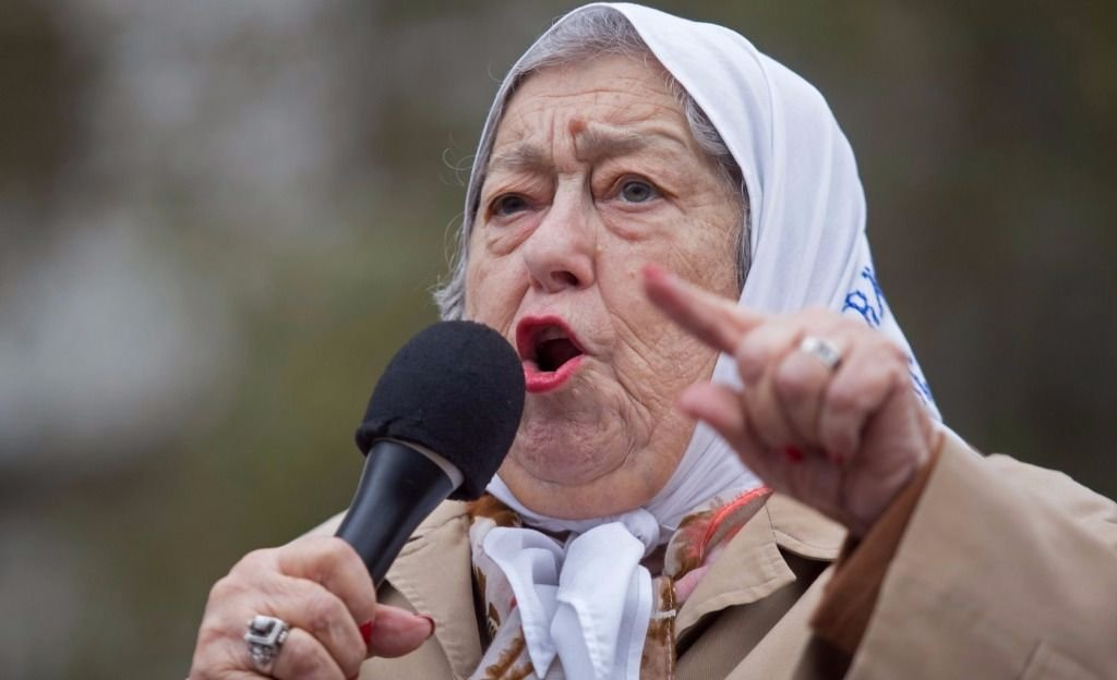 Hebe de Bonafini cargó contra la CGT, dirigentes peronistas y los medios