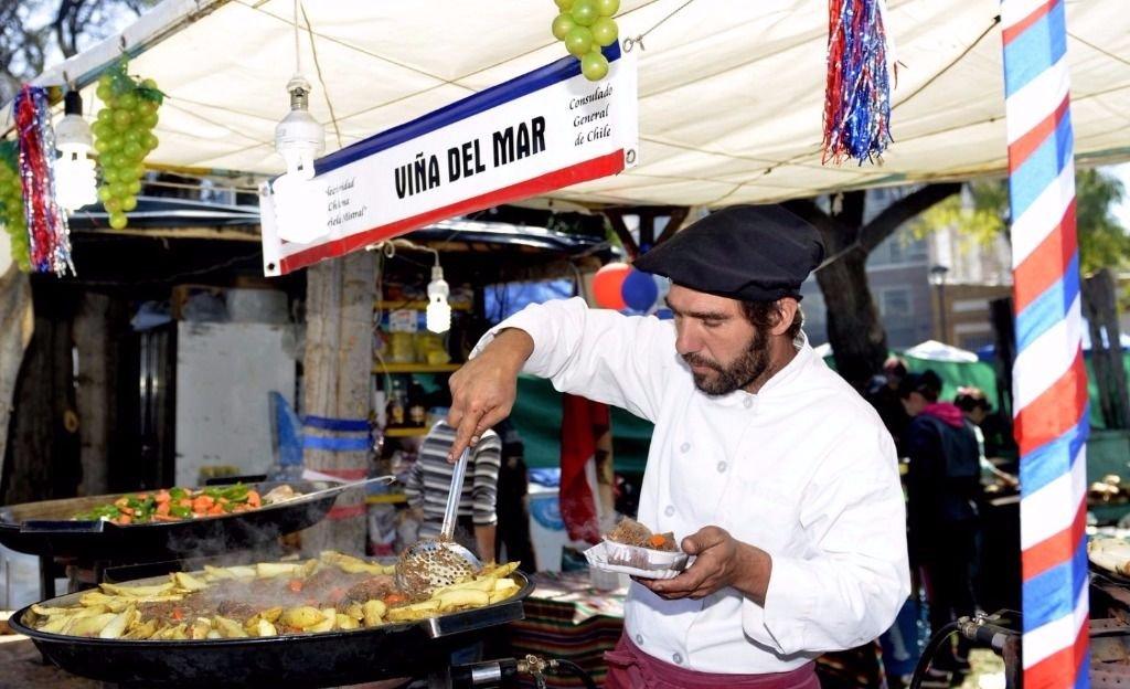Argentinos y chilenos festejan su hermandad