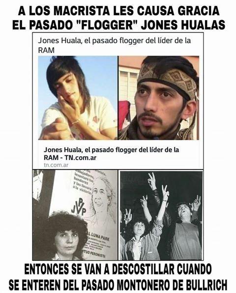 """Facebook se llenó de memes sobre el """"mapu-flogger"""" y la militancia K contestó duro"""