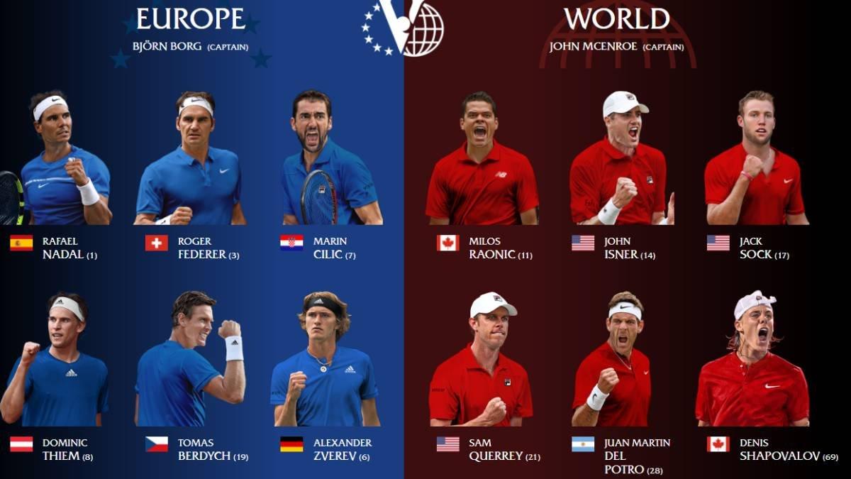 Federer y Nadal se juntaron