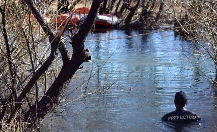 Encontraron un cuerpo en el Río Chubut cerca de Cushamen