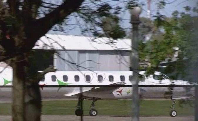 Llegó a Buenos Aires el avión con el cuerpo encontrado en el río Chubut