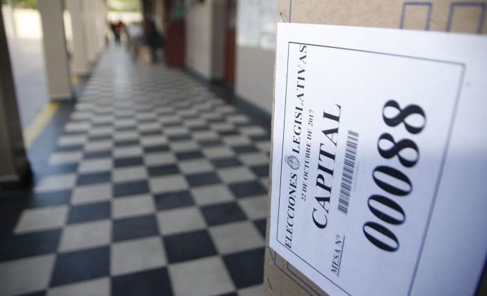 Las legislativas se desarrollan con normalidad en Mendoza