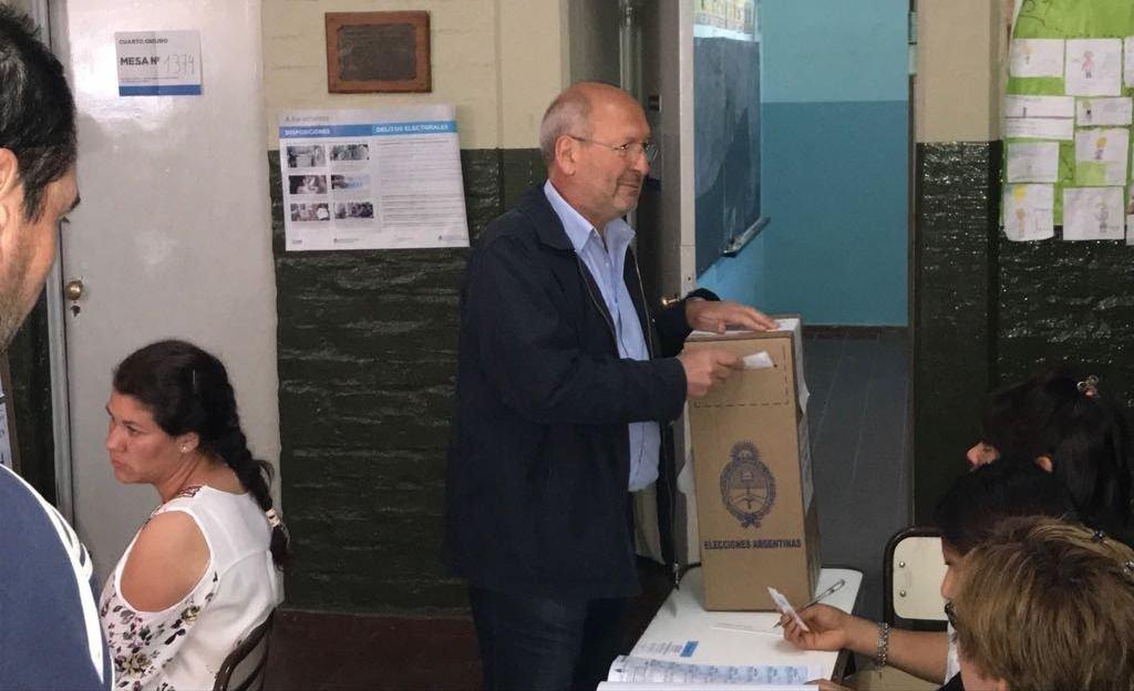 """Marcelino: """"Este voto determina si quieren que volvamos atrás o ratifiquemos el rumbo"""""""