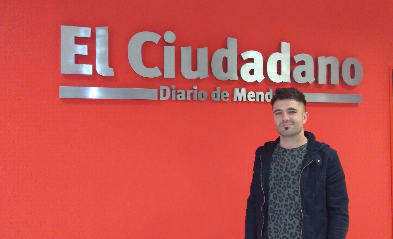 Bolzoni filmará un video en Mendoza