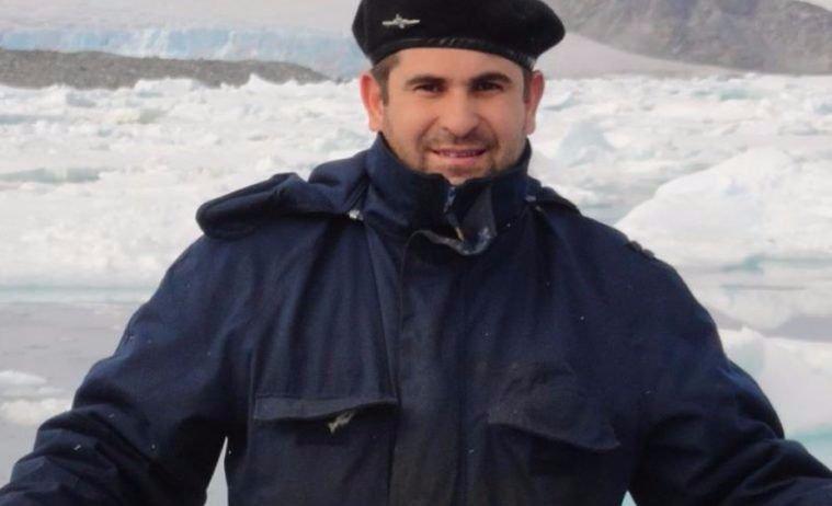 Él es Hernán, el alvearense que está entre los tripulantes del submarino desaparecido