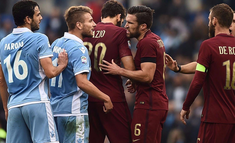 Roma y Lazio juegan el clásico capitalino