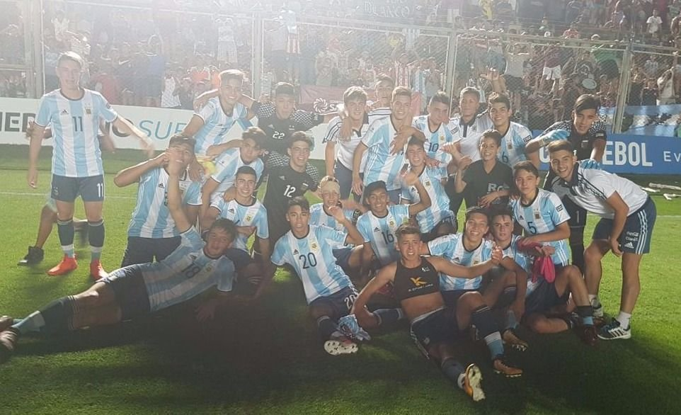 ¡Argentina campeón! Le ganó el clásico a Brasil y se consagró en el Sudamericano Sub 15