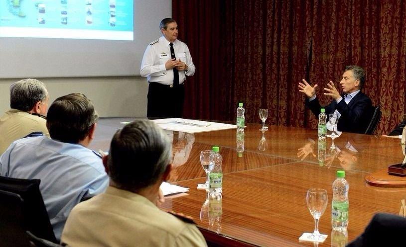 Macri se posiciona al frente de la búsqueda del submarino argentino