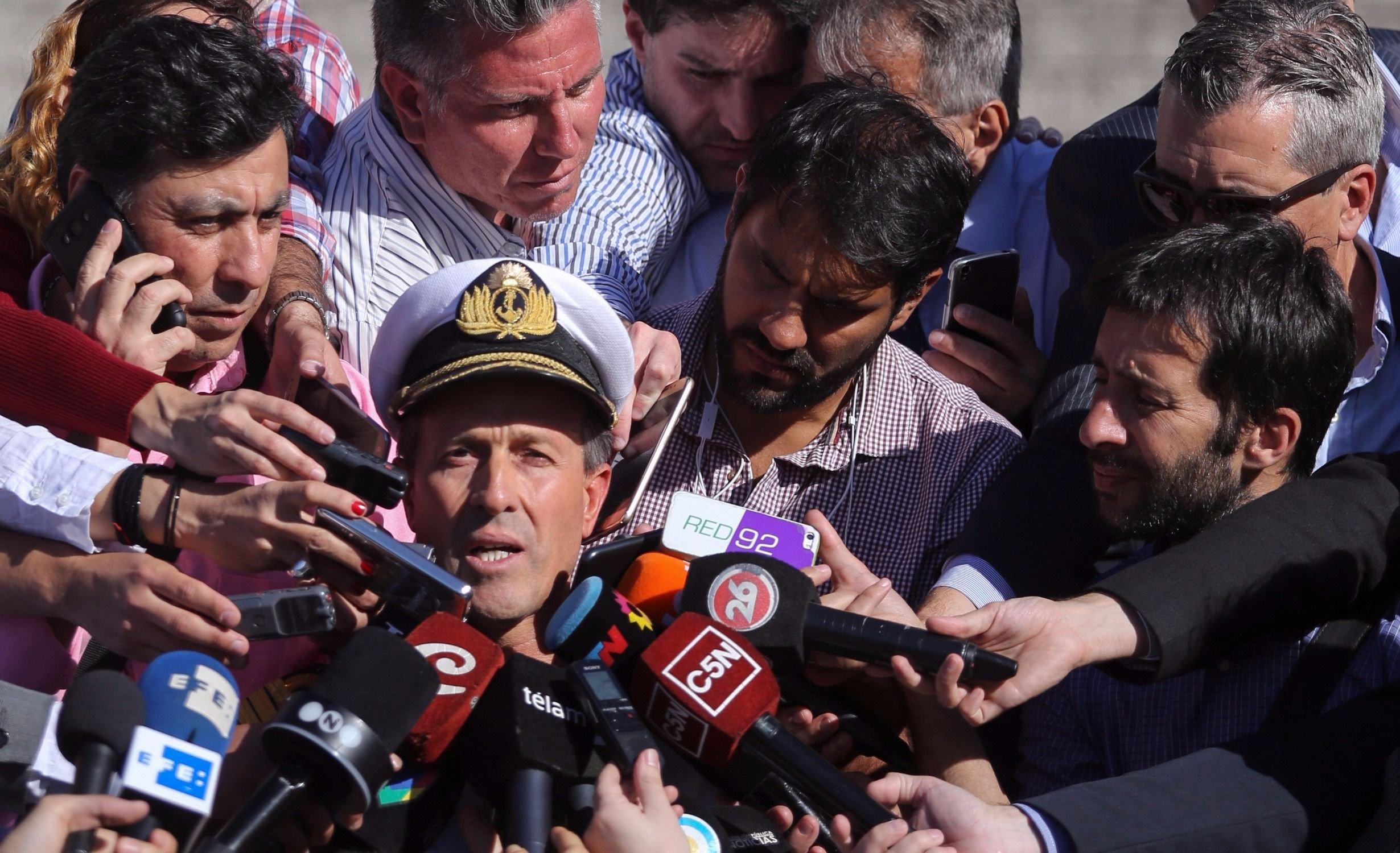 """La búsqueda del ARA San Juan: """"No hay ningún tipo de contacto"""""""