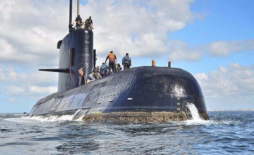 ARA San Juan: la Armada argentina confirmó una explosión