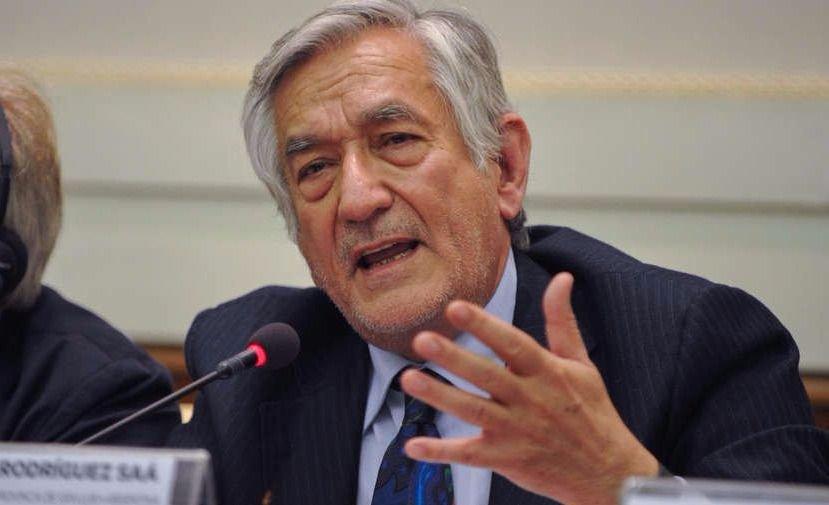 Rodríguez Saá confirmó que no firmará el pacto fiscal
