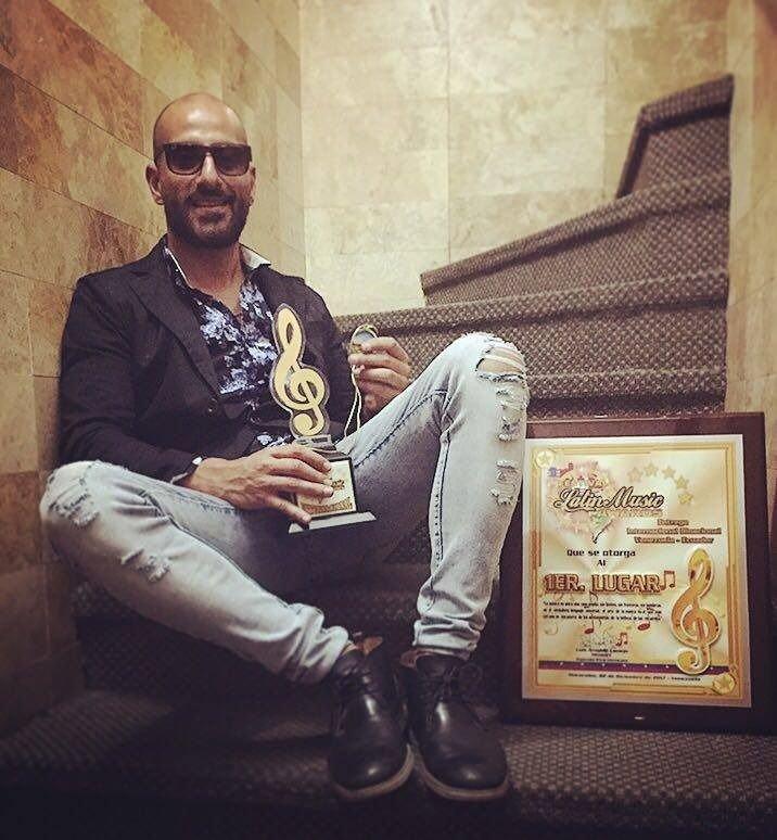 Un mendocino premiado en los Latin Music Awards