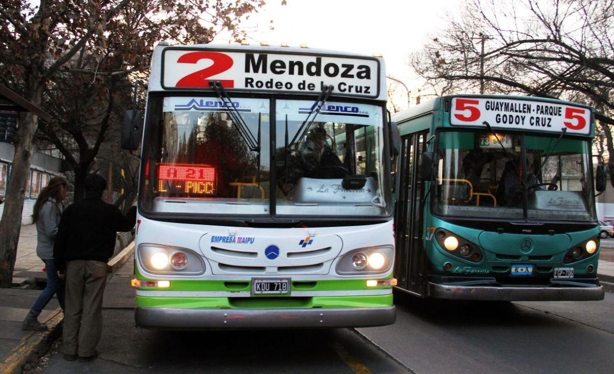 Micros: en 2019 funcionará la SUBE en Mendoza