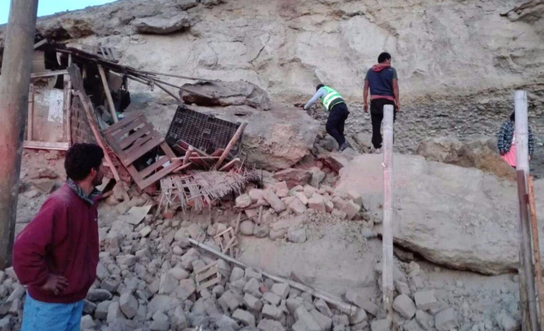 Fuerte terremoto en Perú provoca muertos y heridos