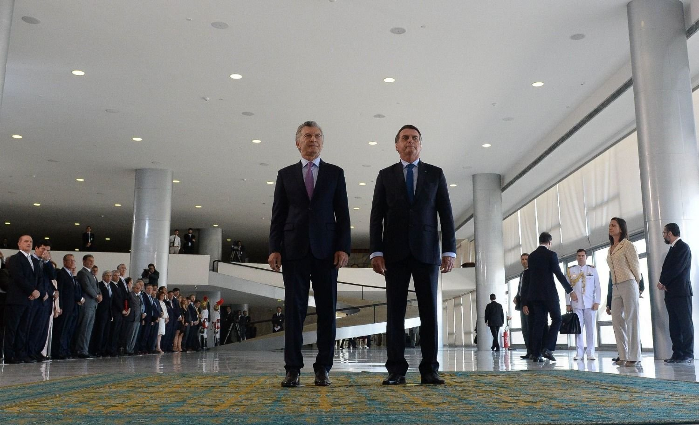 Macri y Bolsonaro criticaron la dictadura de Maduro en Venezuela