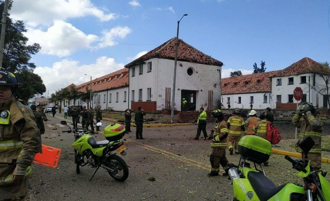 Un atentado en Bogotá dejó 8 muertos y más de 40 heridos