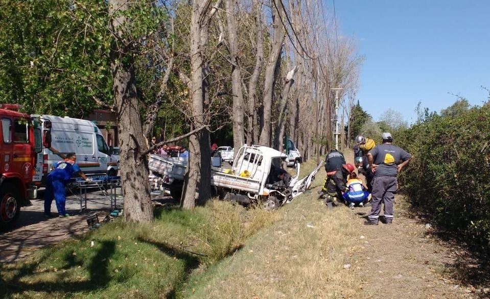 Accidente fatal en la Ruta 60 en Luján de Cuyo