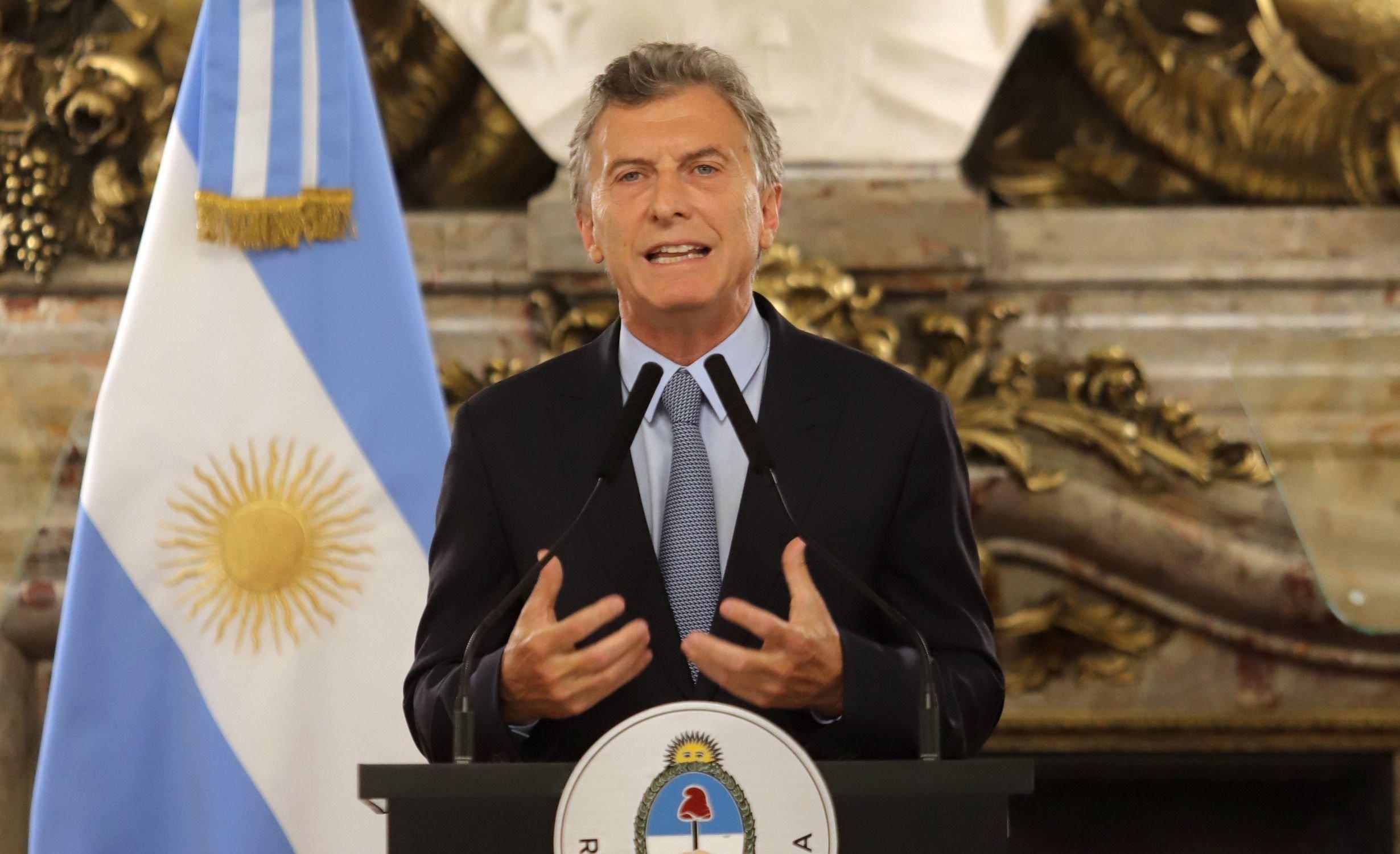 Macri anunció un decreto para recuperar los bienes de la corrupción