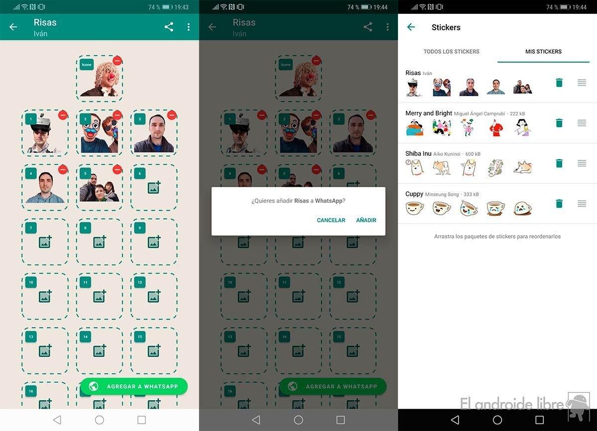 stickers memes app whatsapp programa fotos adultos turbios