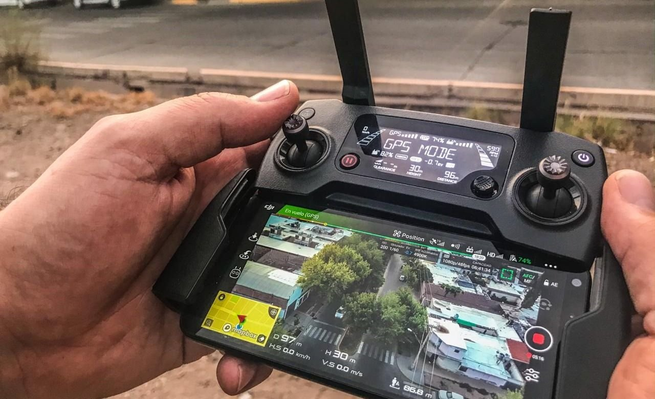Policía de Mendoza controles drones tecnología Capital