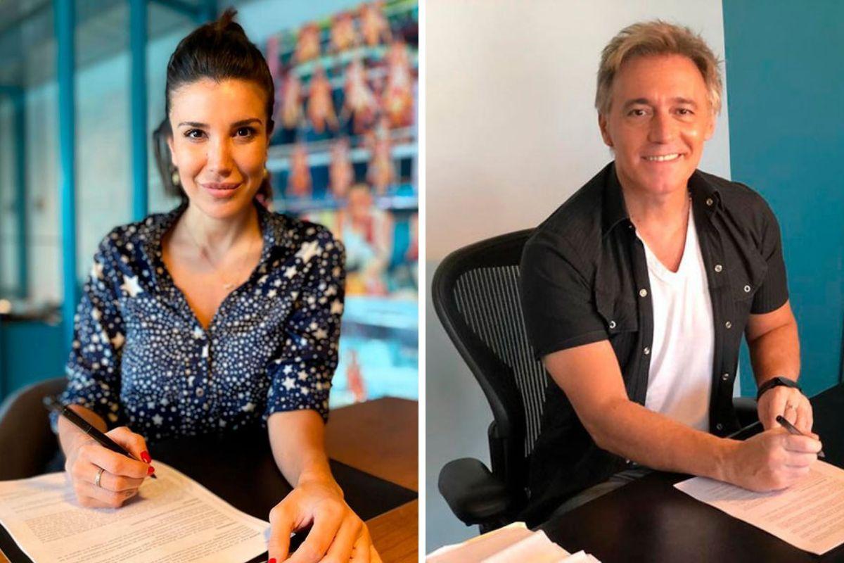 Andrea Rincón y Cae directo a MasterChef Celebrity II