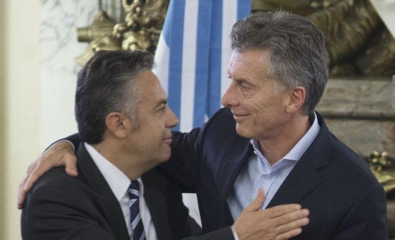 Cornejo descartó una posible fórmula con Macri
