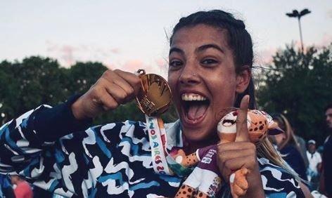 Zoe Turnes: campeona en la arena y diosa en las redes