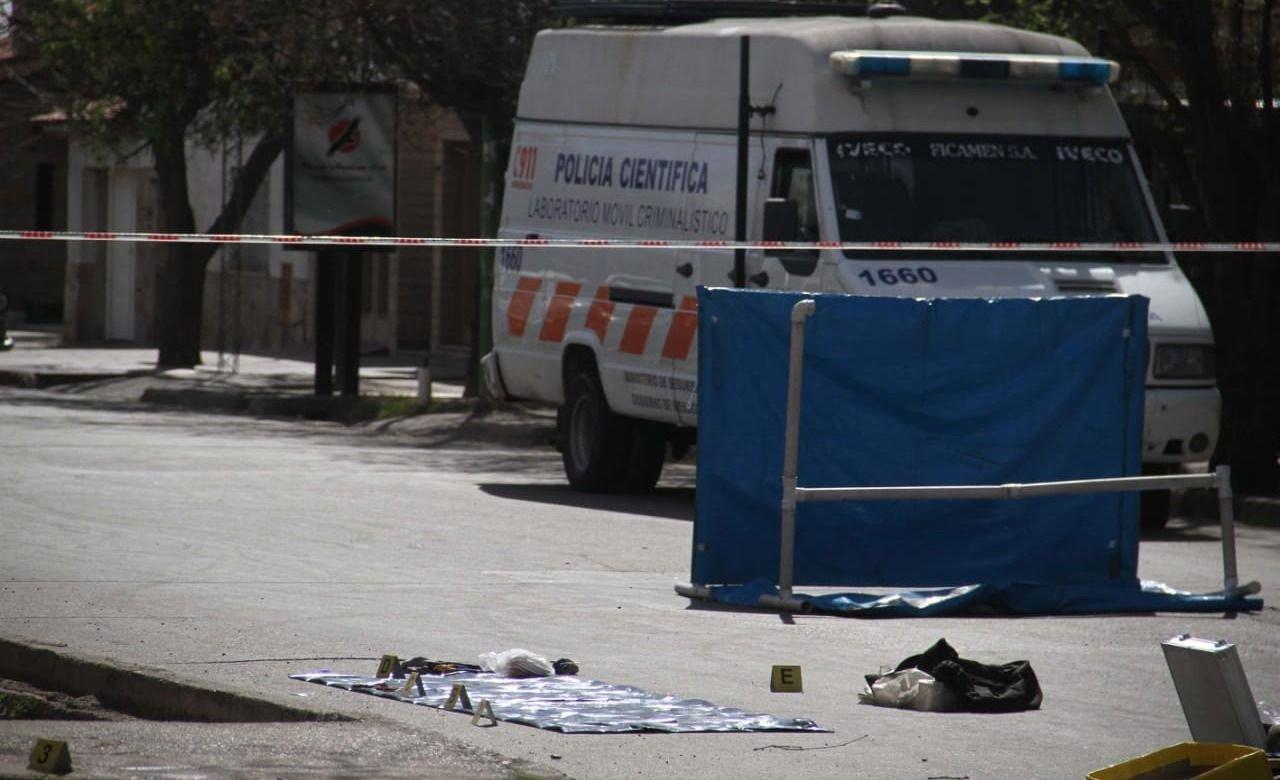 Motociclista murió tras chocar contra un micro en Maipú