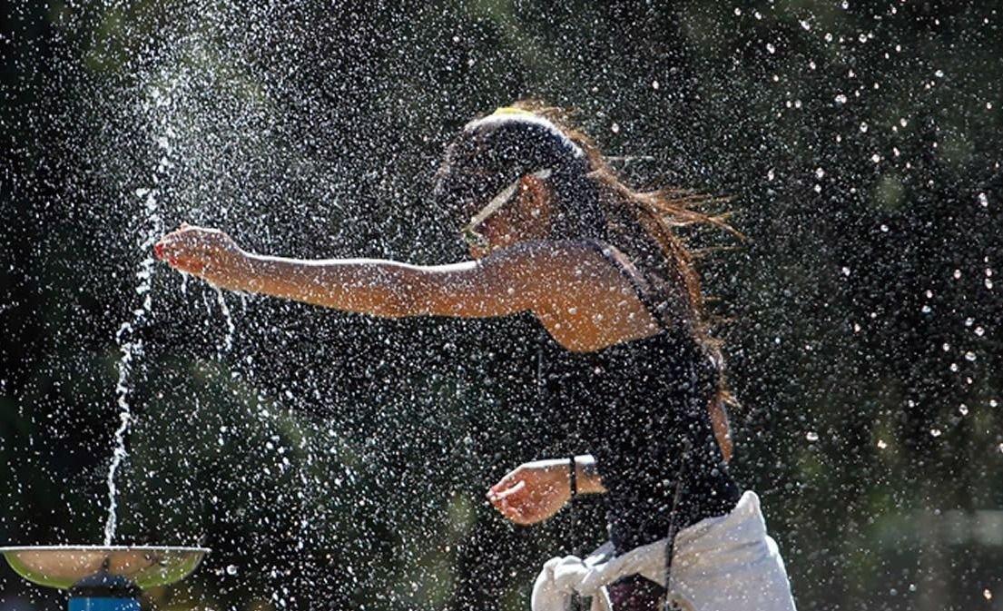 El pronóstico para hoy: mucho calor y ¿Lluvia?