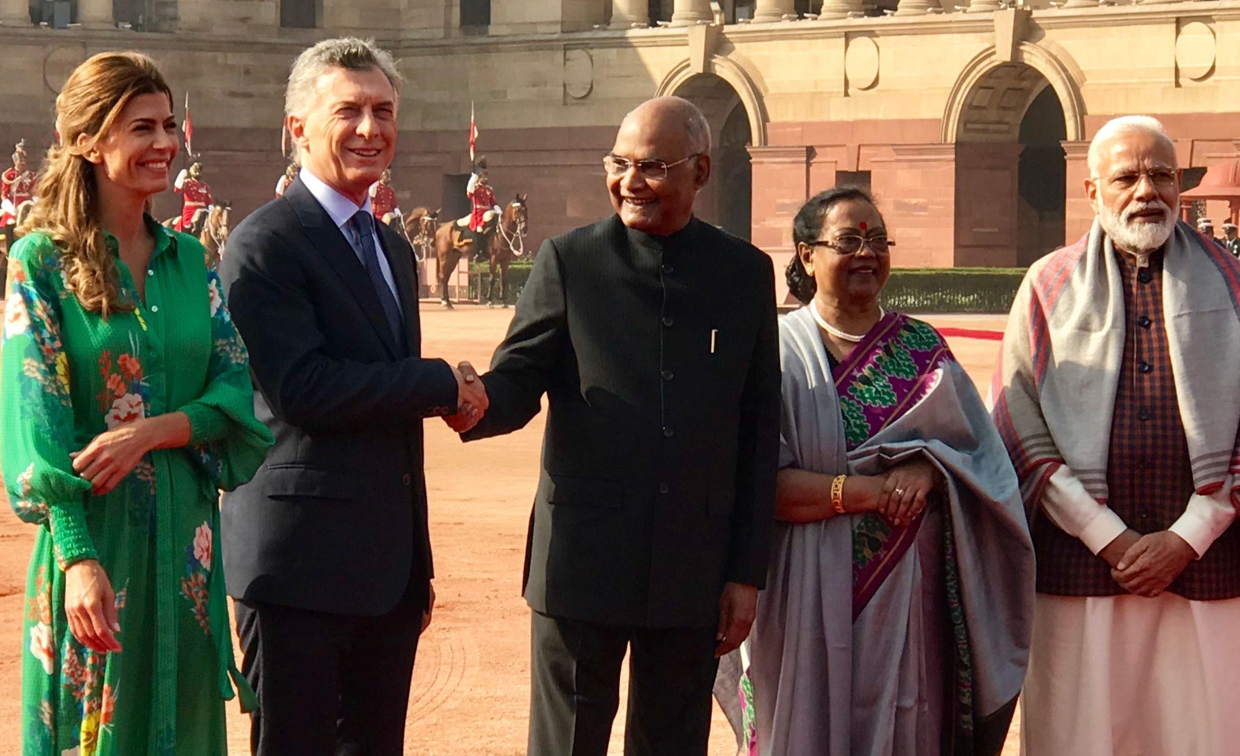 Argentina firmó diez acuerdos bilaterales con India