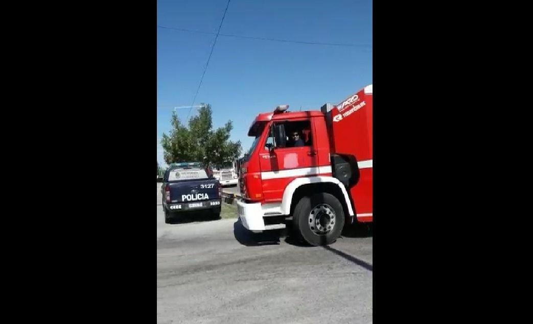 Mendoza | Se incendió una importante fábrica de conservas: hay video