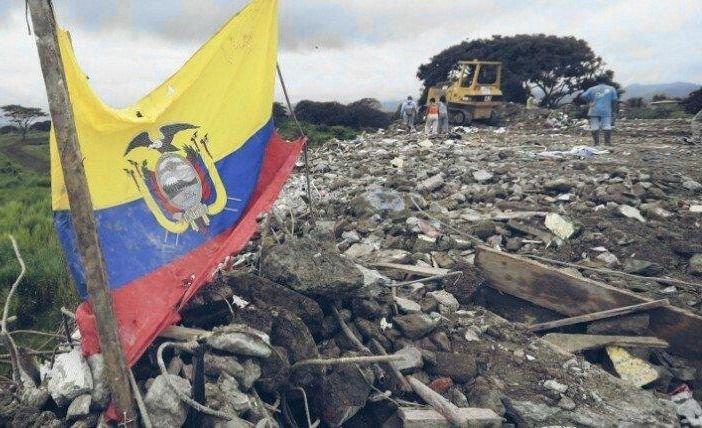 Un terremoto sacudió a Ecuador