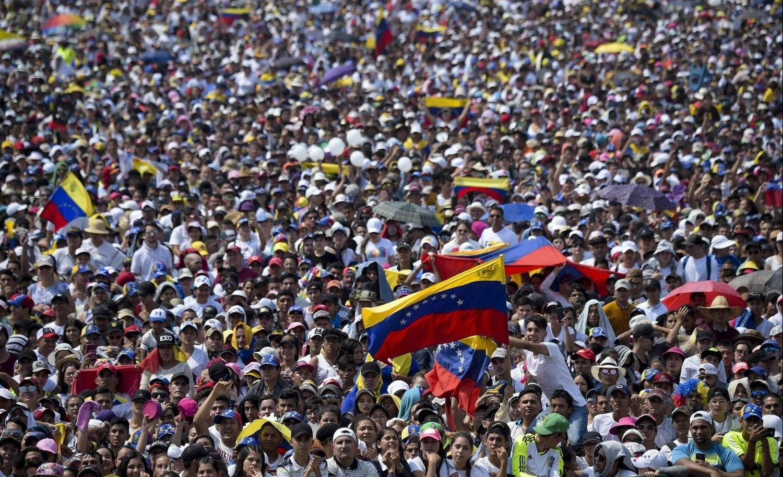 Multitudinaria convocatoria tuvo el Venezuela Aid Live