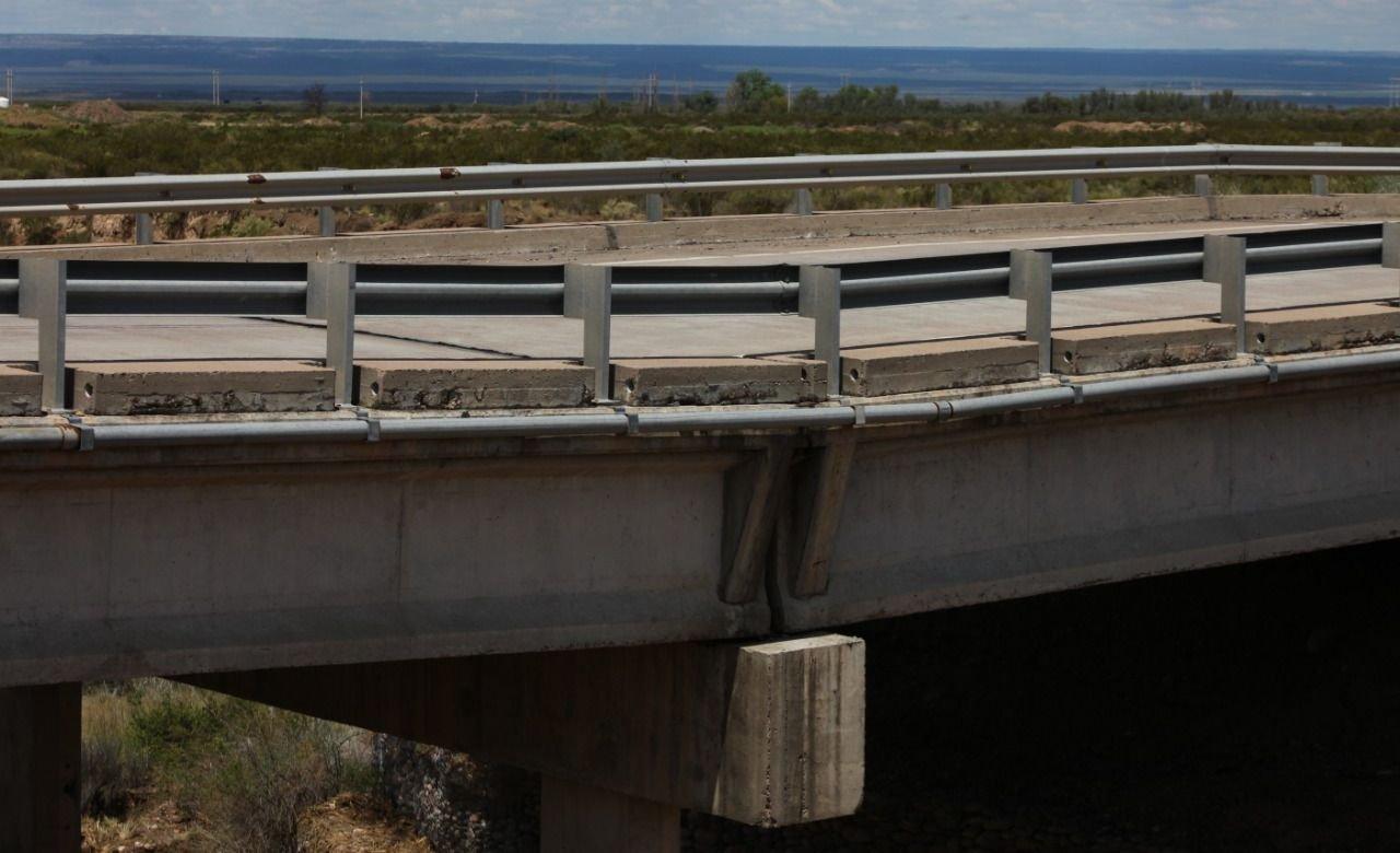Mendoza puente Vialidad Nacional Federico Zamarbide Ruta 40 Luján de Cuyo