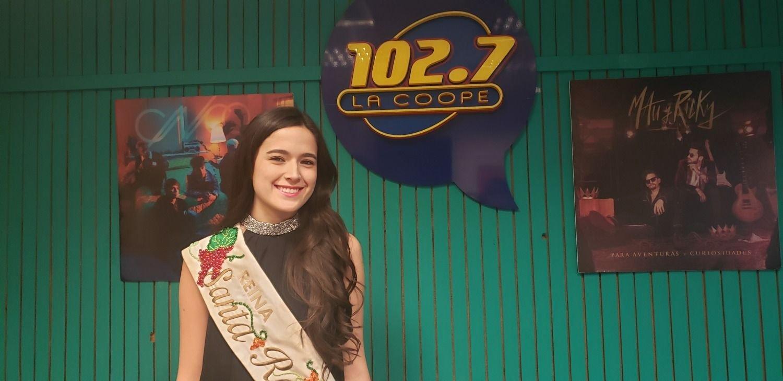 Vendimia en La Coope | Daniela Vanin, reina de Santa Rosa