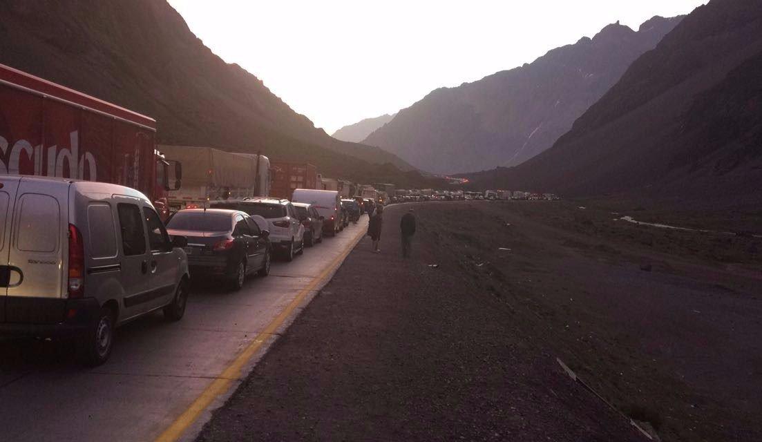 Túnel Internacional: este jueves interrumpen el tránsito