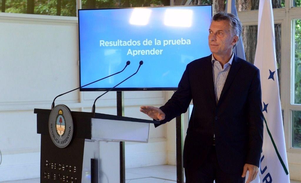 """Macri: """"Los resultados fueron sorprendentemente malos"""""""